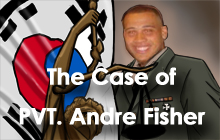 PVT Andre Fisher Page